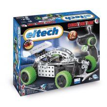 Metalbyggesæt - Racer m. motor fjernstyret 2,4 GHZ