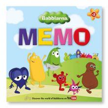 Babblarna sprogtræning - Memo huskespil