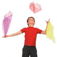 Jonglør tørklæder, 3 stk