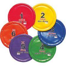 Frisbee / bløde disks - 6 stk i sæt
