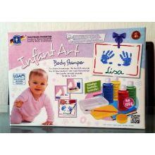 Babykunst – Malekit til hånd- og fodaftryk