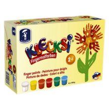 Fingermaling KLECKSi - 6 dåser
