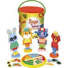 Bingo - Klæd dyrene på