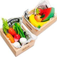 Legemad - Kasse med frugt eller grønt