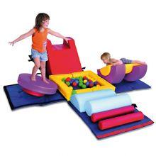 Skummøbel - Gymnastikkube Baby/Tumling
