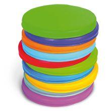 Skumpuder - Farvet 10 stk