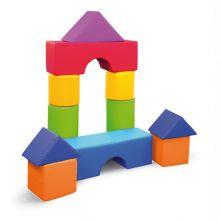 Skumklodser - Byggesæt m. 11 blokke
