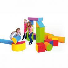 Skumklodser - Byggesæt m. 19 blokke