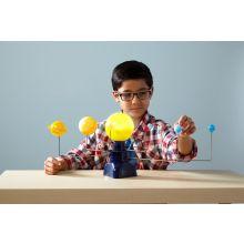 Solsystem - Motoriseret bordmodel