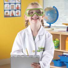 Udklædning - Laborantkittel og briller
