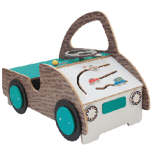 Legebil med aktiviteter - Lille