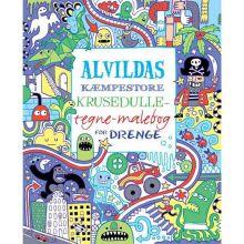 Alvildas malebog for drenge