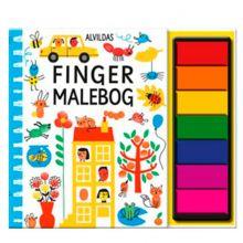 Alvildas fingermalebog