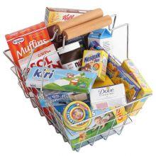 Køkkentilbehør legemad - Indkøbskurv med indhold