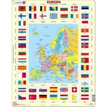 Larsen Puslespil Europas flag