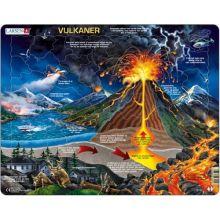 Larsen puslespil - Vulkan