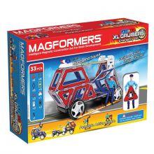 Magformers 33 stk - Udrykningskøretøjer