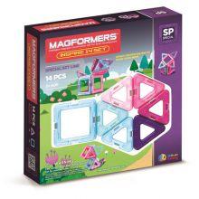 Magformers 14 stk - Inspire sæt