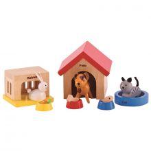 Dukkehus tilbehør - Kæledyr