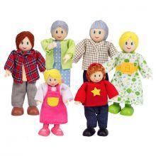Dukkehus - Dukkefamilie - Flere generationer
