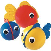 Badeleg - 3 små fisk