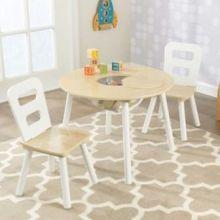 Bord- og stolesæt | Inkl. opbevaring