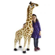 Tøjdyr i plys - Giraf