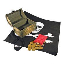 Udklædning - Pirat med skattekiste