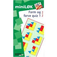 mini-LØK - Form og farve quiz 1