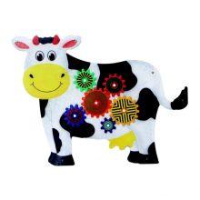 Vægpanel - Den glade ko