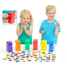 Put farven i postkassen - Læringsspil