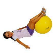 Gymnastikbold 45cm gul