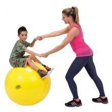 Gymnastikbold 75 cm gul