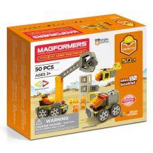 Magformers 50 stk - Byggepladsen