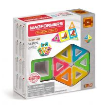 Magformers XL Neon - 14 stk