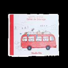 Male- og aktivitetsbog - Den Røde Bus