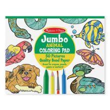 Malebog - Jumbo med dyr
