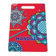 Malebog Mandala m. håndtag - Former