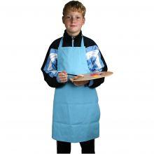 Malerforklæde blå, 7-12 år