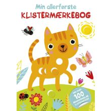 Min allerførste klistermærkebog - Kat