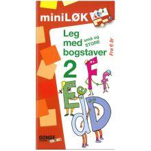mini-LØK - Leg med små og store bogstaver 2