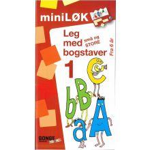 mini-LØK - Leg med små og store bogstaver 1