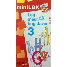mini-LØK - Leg med små og store bogstaver 3