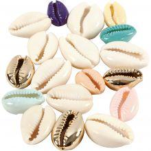 Muslingeskaller (ass. farver), 75 stk