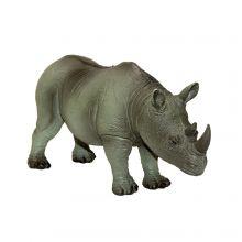 Næsehorn i naturgummi