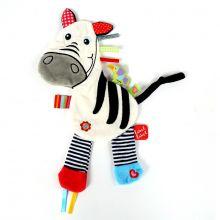 Nusseklud med taggies - Zebra