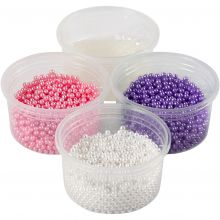 Pearl Clay - Pink, lilla, hvid