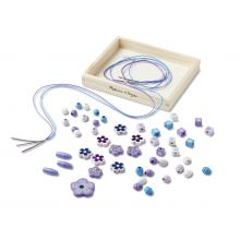 Perler i træ - Med glimmereffekt