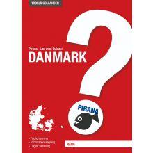 Pirana træningshæfte - Lær med Quizzer: Danmark