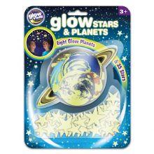 Planeter og stjerner - Selvlysende, 43 dele